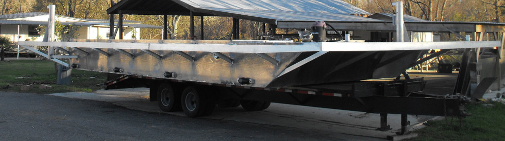 Custom Aluminum Barge Louisiana