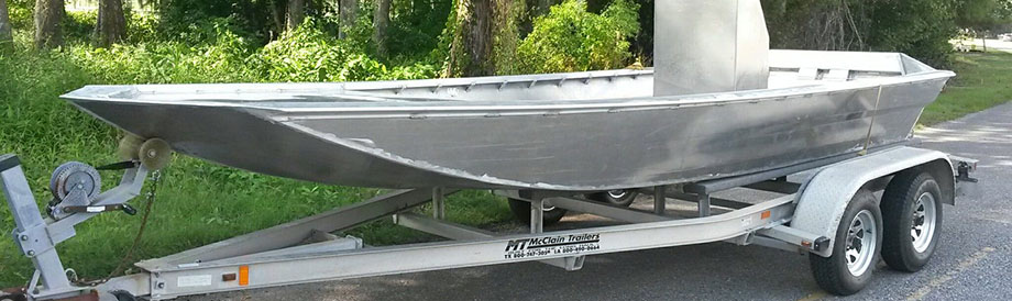 Modified V Aluminum Boat